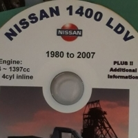 Nissan 1400 manual on offer on dvd .