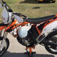 KTM 500 XC-W Fuel injection