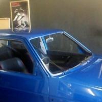 Mk 2 golf body with custom paint job for sale
