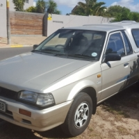 Ford Bantam 1.3 Leisure 2001 Silver Lic with Canopy and fitted tool box R39 900-00