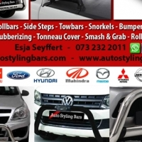 Discount Special Nudge Bars, Rollbars, Side Steps, Covers & Towbars