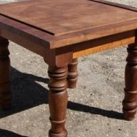 x2 Imbua side table