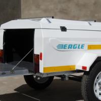 New fibre glass luggage trailers