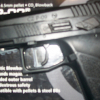 CZ P -290 Call 4.5 mm pallet CO 2 Blowback protection weapon