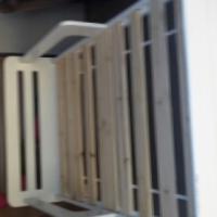 1x single bed 1x side bed cuboard