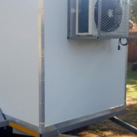Custom made mobile coldrooms