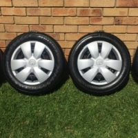 "Toyota Yaris 14"" Rims and Tyres For Sale!!"