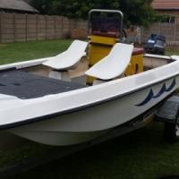 Lekker visvang boat