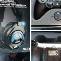 Scuf and turtlebeach geadset good condition.