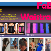 Waistrainers and Corsets available and recieve a FREE GYM PANTS WORTH R200.