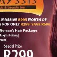 How to get R995 worth of Hair Services for only R299!