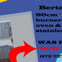 URGENT SALE - Bertazzoni 90cm full gas - only 1 x unit left