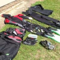 Scuba gear for sale.