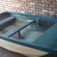 3.5 hp Yamaha fiberglass fishing boat