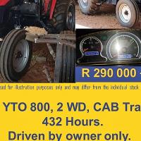 Tractor Kingdom : 2015 YTO 800 Tractor