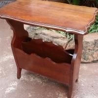 Imbuia Telephone Table (610x370x625)