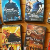 Choose from 64 Original Dvd's