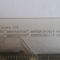 Olivetti electric typewriter, serviced