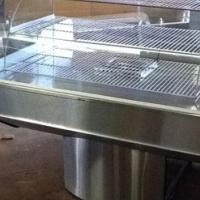 Pie Warmer Floor Standing With S/Steel Base