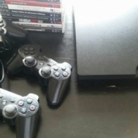 320 GB PS3 Console and 9 Games.