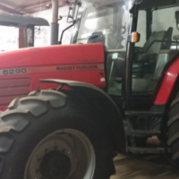 S2252 2008 Red Massey Ferguson (MF) 6290 4x4 Pre-Owned Tractor/Trekker