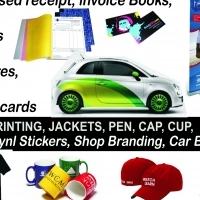 Personalised receipt/invoice books
