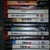Playstasion 3 games for sale.