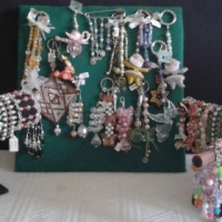 Beaded Jewellery - Hand Made.
