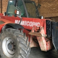 3 x Manitou MT1235 Telehandlers for sale