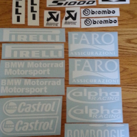 S1000 RR Faro graphics decal kit