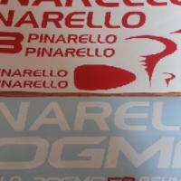 Pinarello frame and rim decals graphics sticker sets