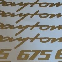 Triumph Daytona 675 / 675R decals stickers kits