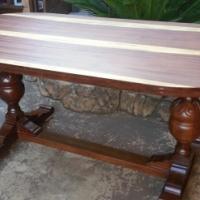 Antique Teak Dining Table (1820x910x775)