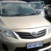 Toyota Corolla 1.6 Model 2008 5 Door Colour Gold Factory A/C & CD Stero Player