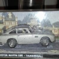 james bond model car collection 82 cars