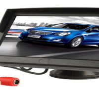 Brand new 7 inch LCD screen with 2 inputs