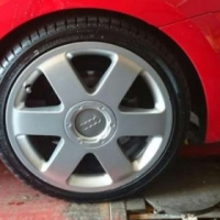 Audi TT 17' mag rims with tyres