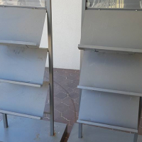 2 Steel Bookstands