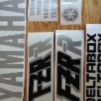 Yamaha Fzr / fzrr decals stickers graphics kits