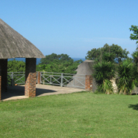 Character Dutch Gable House + 1 Bedroom Cottage R990,000 Fully Tenanted Distant Sea View Umtentweni