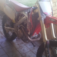honda crf 450 r 2009