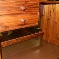 2 Drawer Wooden Desk