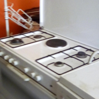 White gas stove for sale