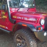 New Mahindra Thar 2.5 CRDe 4x4