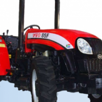 S2198 Red YTO 75F 50kW/67Hp Orchard 4x4 New Tractor