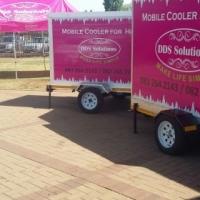 Mobile fridge/freezer for hire