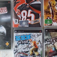 FOR SALE: 5 x PSP games for sale