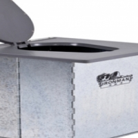 Ironman Fold-able Bush Toilet