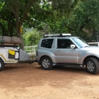 Jurgens XT120 4x4 off road camping trailer
