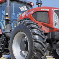 S2193 Red YTO 1504 CAB + A/C 112kW/150Hp 4x4 New Tractor
